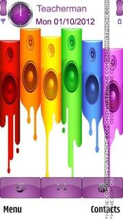 Colours Art es el tema de pantalla
