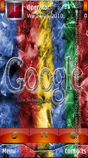 Google Logo theme screenshot