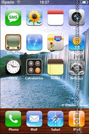 Waterfall 03 theme screenshot