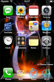 Fireball 01 theme screenshot