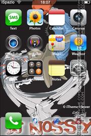 Dj Nossy theme screenshot