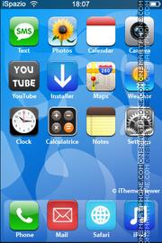 iPhone V2 Theme es el tema de pantalla