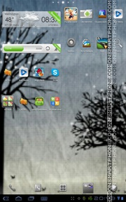 Africa 2011 theme screenshot