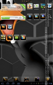 Daffy Duck 01 theme screenshot