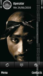 Tupac tema screenshot