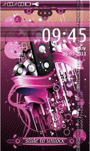 Music Abstract 03 theme screenshot