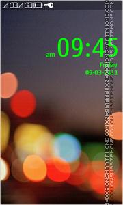 Asha Green theme screenshot
