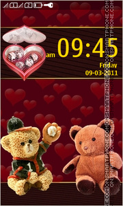 Teddy Love 04 theme screenshot