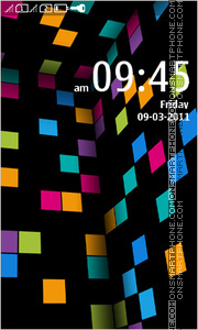 Скриншот темы Lumia Theme for Nokia Asha305