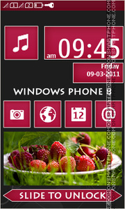 Windows Phone 8 Magenta tema screenshot
