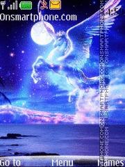 White Pegasus tema screenshot