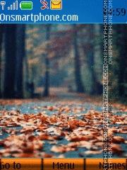Autumn Park 01 es el tema de pantalla