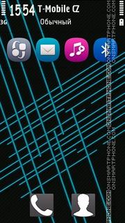 Blue Design Licky theme screenshot