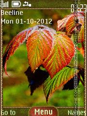 Colorful Autumn theme screenshot