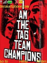 WWE Team Hell No es el tema de pantalla