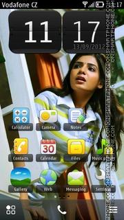 Samantha Ruth Prabhu 02 es el tema de pantalla