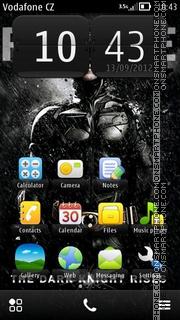 Dark Knight Rises es el tema de pantalla