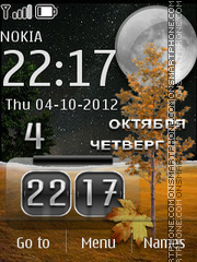 Autumn Live theme screenshot