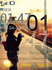 Photographic Woman theme screenshot