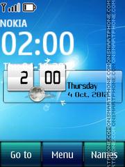 Windows 7 Digital tema screenshot