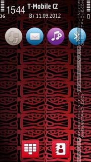 Asmat Red 5th tema screenshot