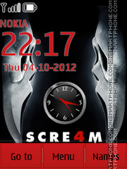 Scream4 theme screenshot