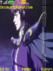 Saint Seiya lost canvas Hades tema screenshot