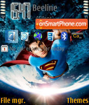 Superman Returns 01 theme screenshot