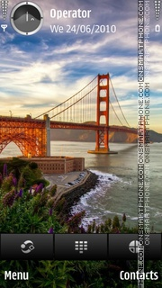 Golden Gate theme screenshot