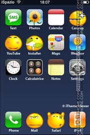 Crazy Smile theme screenshot
