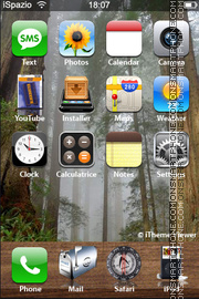 Forest 02 theme screenshot