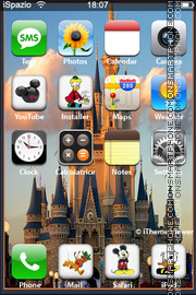Disney Castle 01 theme screenshot