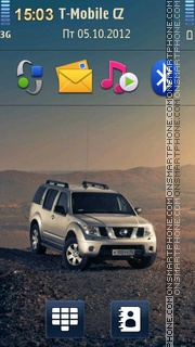 Nissan Pathfinder theme screenshot