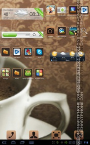 Coffee Time 02 theme screenshot