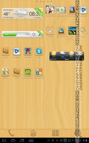 Wood Is Good 2.0 tema screenshot
