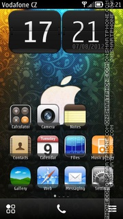 Apple Logo 03 theme screenshot