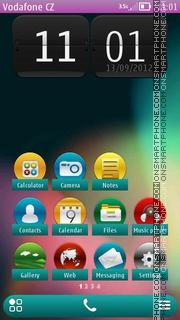 Jelly Bean Belle theme screenshot