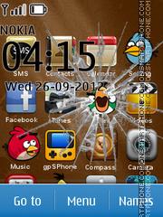 Angry Bird 09 es el tema de pantalla