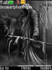 Скриншот темы Angel Of Death