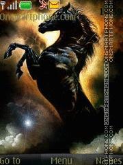 Скриншот темы Animated Horse