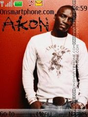 Скриншот темы Akon