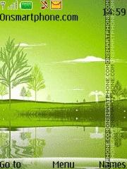 Green Water es el tema de pantalla