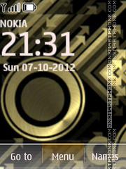 Golden Xpress theme screenshot
