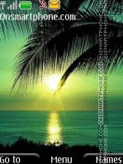 Golden Sunset theme screenshot
