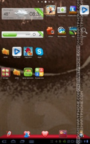 Romantic Theme tema screenshot