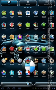 BMW 11 theme screenshot