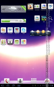 Space 21 tema screenshot