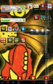 EdHardy tema screenshot