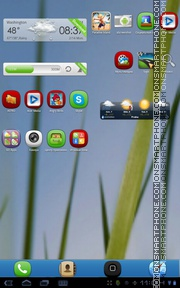 Grass 05 theme screenshot