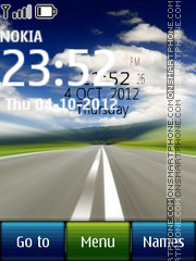 Digital Road theme screenshot